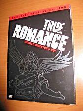 True Romance 1993  Director's Cut (2 DVD) Christian Slater Patricia Arquette