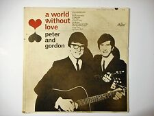 Peter and Gordon, A World Without Love 1964 Capitol Album Mono VG