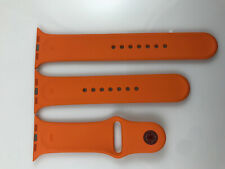 Original Apple Watch Hermes Sport Band 42mm 44mm Orange ML + SM strap included