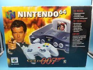 jeu video console nintendo 64 boite 007 goldeneye version EUR UK TBE /!