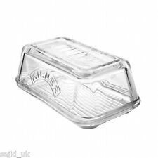 Kilner Glass Butter Dish with Lid - FREE P&P