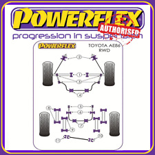 Powerflex Suspension Bush Kit for Toyota Corolla AE86 RWD