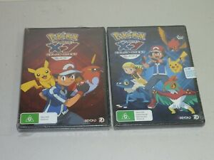 pokemon the series xy kalos quest collection 1 & 2 DVD aus r4 new sealed