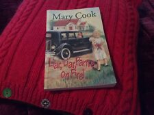 USED (VG) LIAR,LIAR, PANTS ON FIRE ! PAPERBACK BOOK SIGNED By AUTHOR  MARY COOK