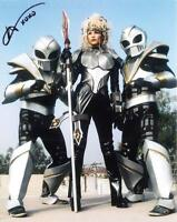MELODY PERKINS as Astronema - Power Rangers GENUINE AUTOGRAPH UACC (R11137)