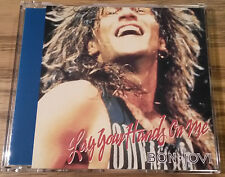 BON JOVI - LAY YOUR HANDS ON ME JAPANESE JAPAN 4 TRACK CD SINGLE MINT