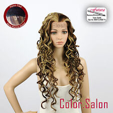 "HAND TIED 3"" Flesh LACE FRONT WIGS Glueless Heat Safe Super Long 99L(3)#6/12/24F"