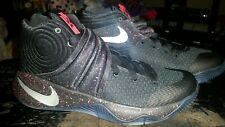 Nike Kyrie 2 Black/Red Speckle Size 8.5 819583-006 jordan kobe