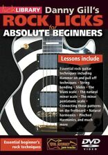 Rock Licks For Absolute Beginners Guitar Instructional Dvd
