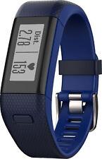 Garmin Vivosmart HR+ and GPS Activity Tracker - Blue