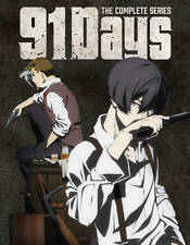 91 Days: Complete Series Limited Edition Anime (Blu-ray/DVD 4-Disc) Sealed