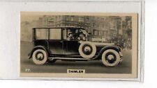 (Jb5121-100)  WILLS NZ,MOTOR CARS,DIAMLER,1926#27