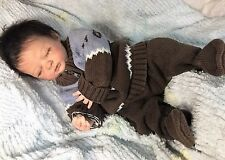 """Reborn Sleeping Baby """"Liam"""" -Doll Therapy for People with Alzheimer's"""