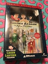Justice League The New Frontier (DVD) Best Buy Exclusive w/ Green Lantern Figure