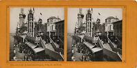 Expo Universale Da Parigi 1900 Wharf Dei Nazioni F. Potin Stereo Albumina