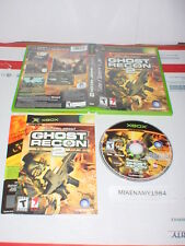 Tom Clancy's GHOST RECON 2 game complete in case w/ manual for MICROSOFT XBOX