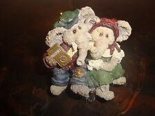Boyds Bears-Packy & Dermah Trunkspace-1999-With Original Box-No Coa