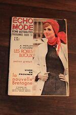 Ancienne revue - Echo de la mode N°48 - 29 Novembre 1964