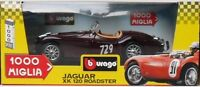 BURAGO 1202-JAGUAR 1000 MIGLIA XK 120 ROADSTER-SPECIAL COLLECTION-MADE IN ITALY