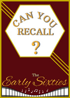 Can You Recall?-The Early Sixties / Dementia/ puzzle book