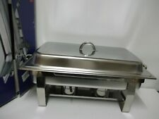 SQ Professional 9.5L Chafing Dish with foldable stand Stainless Steel Brand New