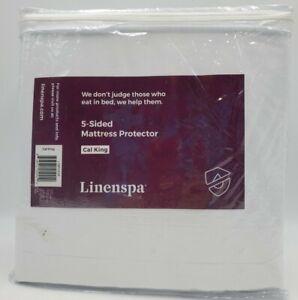 Linenspa Essentials Five Sided Mattress Protector Cal King
