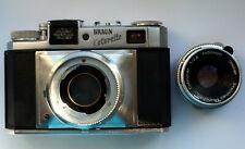 Braun Colorette Super IIB, Culminar 2,8/50 mm Steinheil DKL,  range finder