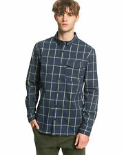 NEW QUIKSILVER™  Mens Misty Heights Long Sleeve Checked Shirt Tops