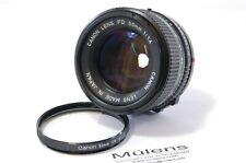 Vintage Lens Canon FD 50mm F1.4 Canon FD mount Ref. 231941
