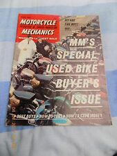 motorcycle mechanics/BSA D10/ blown Norton/1914 Harley Davidson/multi bike guide
