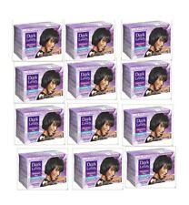 Dark and Lovely No-Lye Hair Relaxer Kit Regular Strength Packof 12 Strengthener
