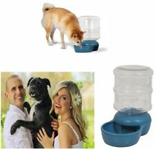 New 4 Gal gallon Automatic Gravity Waterer For Pet Dog Cat Feed Refill Big Bowl