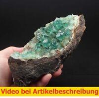 7646 Fluorit  Fluorit  UV ca 9*8*19 cm Hights Quarry  GB 1984 MOVIE