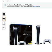 Playstation 5 Digital Edition pre-order presale
