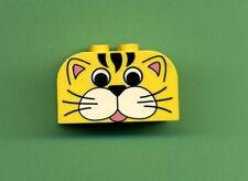Lego--4744px11--- Tiger --Sonderstein--2 x 4 x 2 -- Gelb