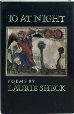 Laurie Sheck / Io at Night First Edition 1990