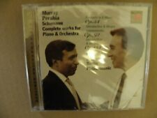 Murray Perahia SEALED DDD CD Schumann Complete Works Piano & Orch Claudio Abbado