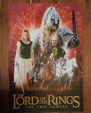 Lord of the Rings The Two Towers 2002 Jigsaw Puzzle 500 large piece Complete