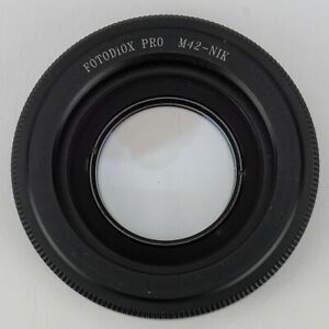 Fotodiox Pro M42-NIK adapter - Use M42 lenses on your Nikon