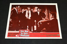 1966 See You In Hell Darling Lobby Card #6 Barry Sullivan 66/299 (C-6)