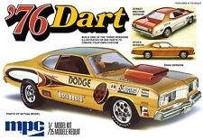1:25 MPC 1976 Dodge Dart *3 in 1* Stock Drag & Street Plastic Model Kit MISB