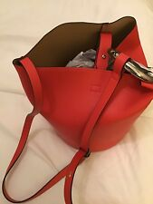 Ladies Marks & Spencer Collection Faux Leather Ring Cross Body Bag Red BNWT