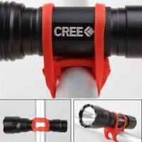 Soporte Bicicleta Universal Silicona Linterna GPS Movil sujetar herramientas