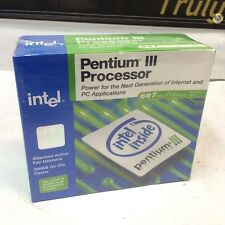 INTEL PENTIUM 3 III 667MHz | VINTAGE IC NEW IN BOX RETAIL CPU SOCKET 370 SEALED!
