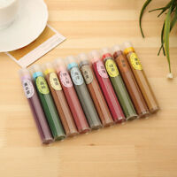 60Pcs Natural Incense Burner Sticks Aroma Sandalwood Rose Air Freshener Lavender