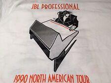 New JBL Professional 1990 North American Tour White LS Tee sz XL  FS