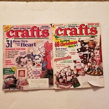 Lot of 2 Vintage Crafts Magazines from 1993