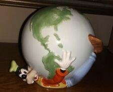"Disney Goofy Ceramic ""Around The World"" Bank"