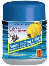 Comida para peces marinos. Ocean nutrition Formula one marine flakes.Escamas.