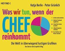 Was wir tun, wenn der Chef reinkommt von Katja Berlin und P. Grünlich, UNGELESEN